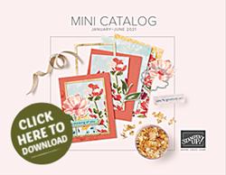 2021 Jan - June Stampin' Up! Mini Catalog